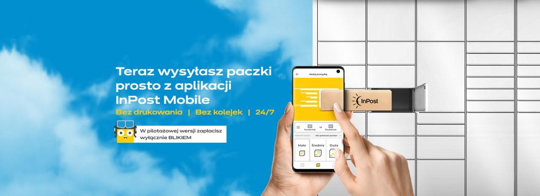 nadawaj prosto z aplikacji InPost Mobile